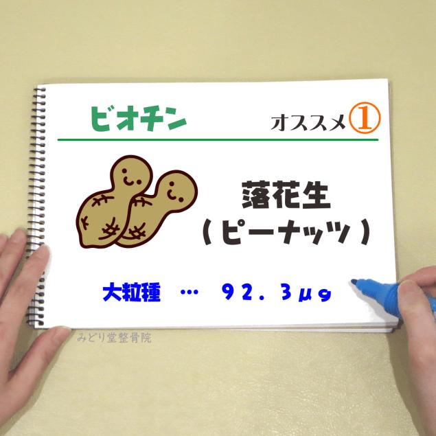 ビタミンB7【ビオチン】_オススメ1(落花生・ピーナッツ)