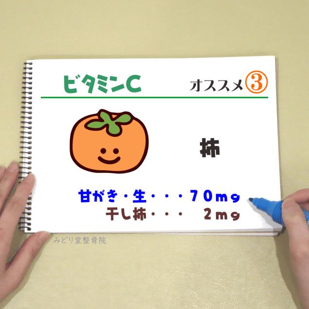 ビタミンC_オススメ3(柿)