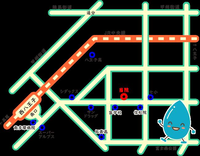 みどり堂整骨院の地図