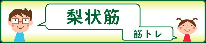 梨状筋の筋トレ