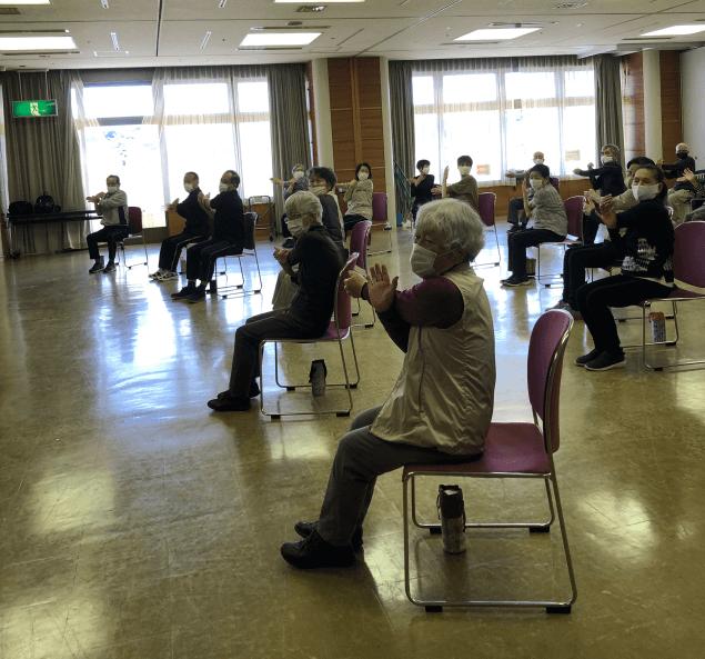 高齢者体操教室「スプリング20」